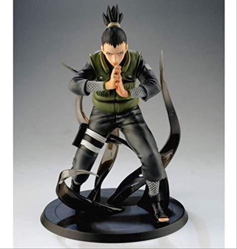 Figuras De Naruto Shikamaru Nara Hatake Kakashi Figuras De Acción Decoraciones Japón Anime Personaje Estatua Coleccionable Modelo De Juguete 16Cm