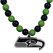 "Officially licensed product licensee: Siskiyou buckle The 24"" String of Fashion beads is light-weight and eye-catching The large team pendant has a high polish finish, with expertly enameled color and carved detail The fun piece is a game day must-ha..."