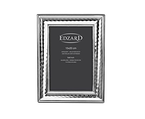 Edzard Portaretratos/Marco de Fotos Urbino para Fotos 15 x 20 cm, Plateado, Protegido contra el deslustre