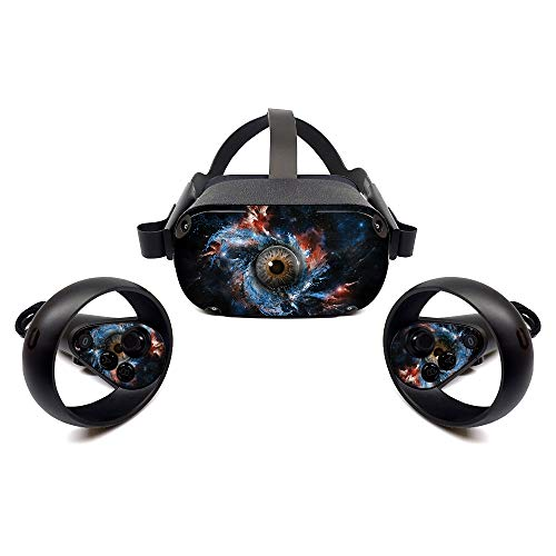 MightySkins Skin for Oculus Quest - Eye See You | Protective, Durable, and Unique Vinyl Decal Wrap Cover | Easy to Apply, Remove, and Change Styles | Made in The USA