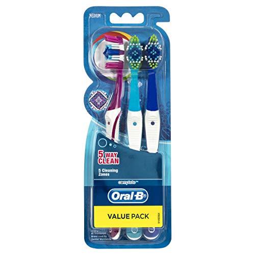 Oral-B Complete Toothbrush Medium Pack