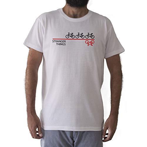 GAMBA TARONJA Stranger Things - Camiseta - Bicicletas - Seri