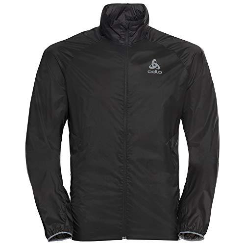 Odlo Herren Zeroweight Dual Dry Jacke, Black, L
