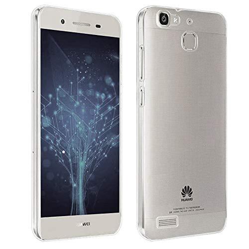 NewTop Cover Compatibile per Huawei P8 Lite/2017/Smart, Custodia TPU Clear Silicone Trasparente Slim Case Posteriore (per P8 Lite Smart)