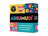 Adsumudi Math Game - The Monstrously Fun, Smart Game for Kids to Practice Multiplication, Division, Addition and Subtraction - Great for Kids Ages 8-12