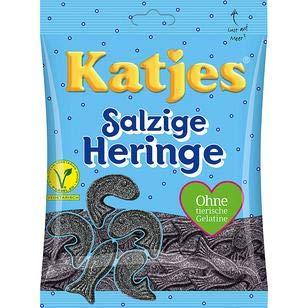 Katjes Salzige Heringe, 10er Pack (10 x 200g)