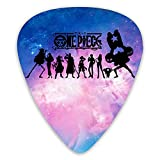 One Piece Anime Guitar 12 Pack durable Guitar Picks Plectrums Unique Guitar Gift For Electric, Bass and Acoustic Guitars Includes (0.46mm/0.71mm/0.96mm)