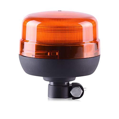 LED-MARTIN® XR1 ECO Feu de Détresse – Lumière Clignotante – Phare Lumineux – 12 V/24 V – jaune – orange – raccordement 24,00 – certifié ECE-R65 & ECE-R10 – flash simple/flash double