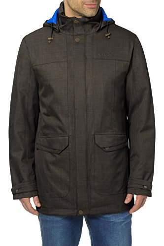 VAUDE Yale V Parka Homme, Fir Green, FR : M (Taille Fabricant : M)
