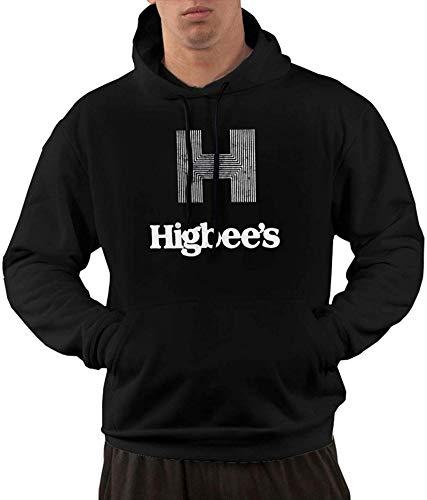 Sudaderas con capucha para hombre Higbee's con capucha y bolsillo delantero