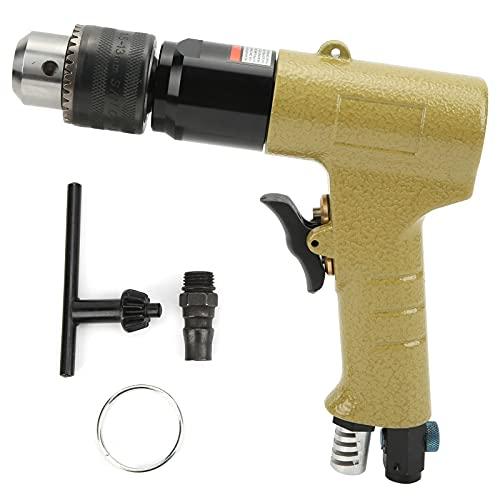 Taladro de aire reversible de 13mm 1/2, tipo pistola, neumático CW CCW, taladradora de madera industrial, herramientas neumáticas KP-554N