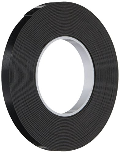 3M 4929 VHB Acrylic Adhesive Viscoelastic Tape - 2.5 in. x 15 ft. Permanent Bonding, Black, Double Sided Tape Roll. Adhesives and Sealants
