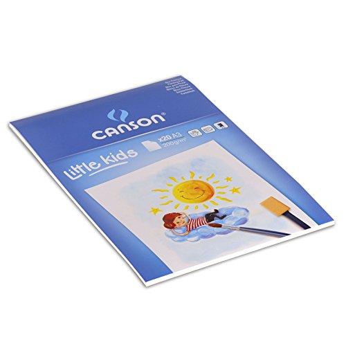 Canson 400015589 - Bloc para pintar (20 hojas, 200 gsm, A3)