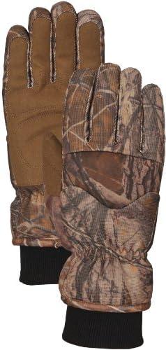 Model# R7783BB Large Bellingham BuckBrush Camo Gloves