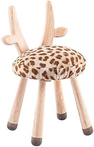 Kinderhocker Wood Fawn Hocker Animal Hocker Sitz Weiß Waschbar Sätzend Und Bequem Sch Stripe Farbe