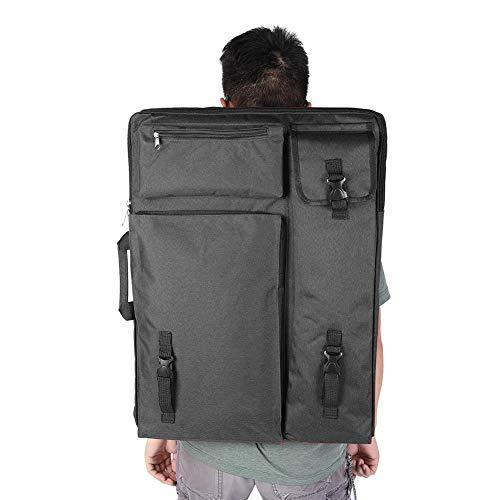 4K Art Portfolio Case Artist Mochila y bolsa de tela Bolsa de dibujo a prueba de agua Bolsa de dibujo Bolsa de transporte de arte Bolsa de suministros de arte(2)