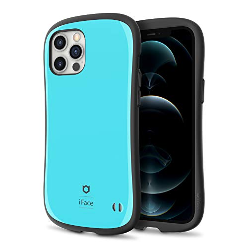 iFace First Class Designed for iPhone 12 Pro Max (6,7 Zoll) - Cute Shockproof Dual Layer [Hard Shell + Bumper] Phone Hülle [Drop Tested] - Emerald Blue