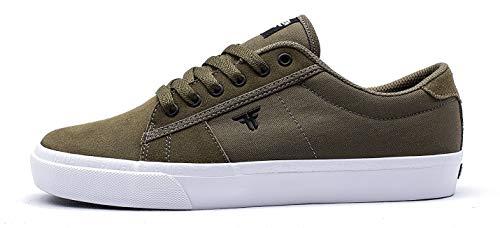 Fallen Bomber, Skate-Schuh für Herren, Grün - Olivgrün schwarz - Größe: 38 EU
