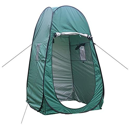 Acampar Aseo Surge La Tienda Tienda De Ducha De Privacidad para Camping Playa Senderismo Baño Espacioso Protección UV Extraíble Cubierta De La Lluvia Refugio Al Aire Libre Cambio De Pesca Sala Verde