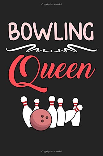 Bowling queen: Daily Planner | Calendar Diary Book | Weekly Planer |bowling, queen, sport, bowling player, sport lover, bowling pin| Doted - Gift Idea for sports lovers, 120 Pages Size 6x9
