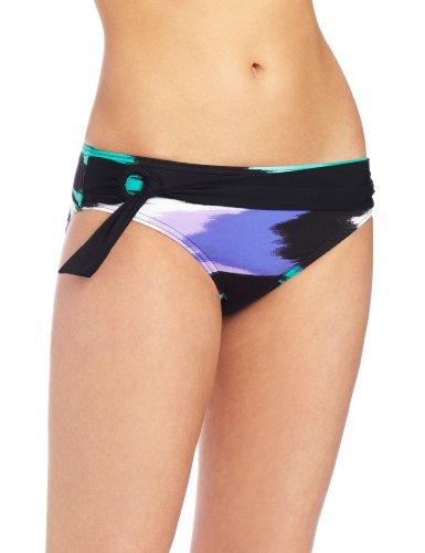 JAG Women's Ikat Retro Swimsuit Bottom, Blue Iris, Medium