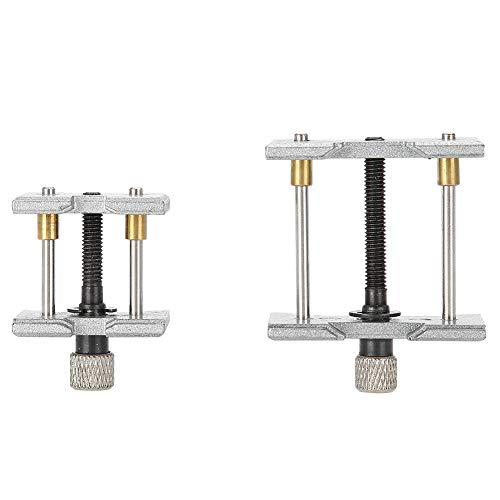 Uhrengehäuse-Reparaturwerkzeug, Batteriekaliber ersetzen Reparaturbewegungsklemme, 2 in 1 verstellbarer Bewegungshalter-Reparaturwerkzeug