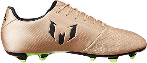 adidas Messi 16.3 FG Botas de fútbol, Hombre, Dorado (Dorado/(Cobmet/Negbas/Versol) 000), 42 EU