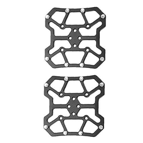 Eaarliyam Pedal Plataforma Automáticos adaptadores de montaña Bicicleta de Carretera Pedales Automáticos de aleación de Aluminio de la Bici de Tierras Partes Negro