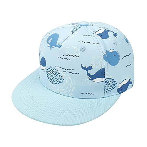 Happy Cherry - Sombrero de Sol Niño Niña para Playa al Aire Libre Gorra de Béisbol Verano Protección Solar Infantil Gorro de Deporte para Tenis Fútbol Golf - 2-4 Años ⭐