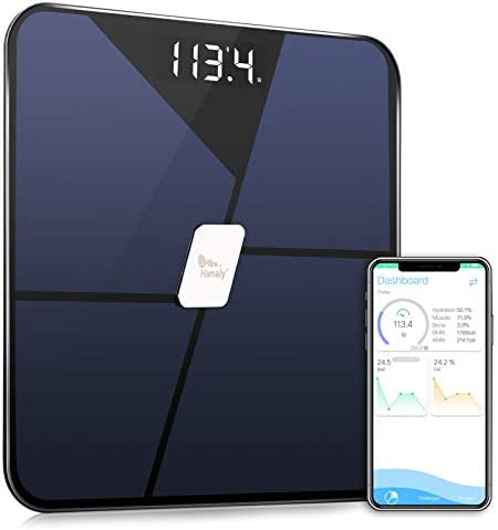 Digital Bathroom Scales Bluetooth Body Fat Scale High Precision Measuring for BMI Smart Scale product image