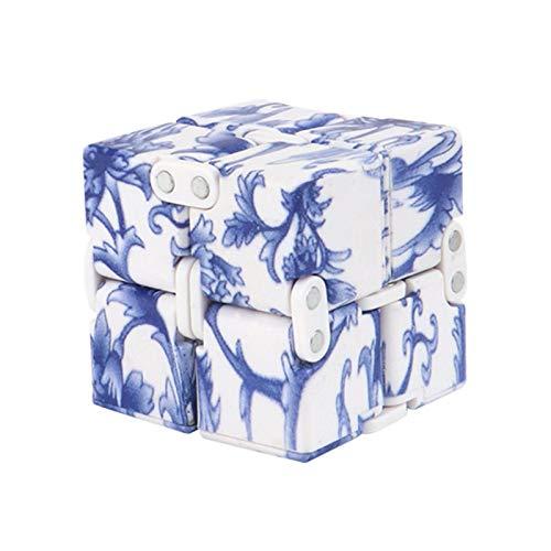 Infinity Cube Zappeln Spielzeug, Multicolor Puzzle Cube Durable Exquisite Dekompressionsspielzeug Für Kinder Und Erwachsene, Zappeln, Fapp Spielwaren, Unendlich Cube Für Stress Und Angstrelief