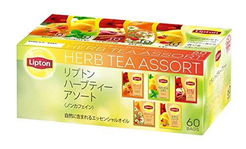 リプトン ハーブティー 5種アソート アルミティーバッグ [紅茶 ノンカフェイン] ×60袋