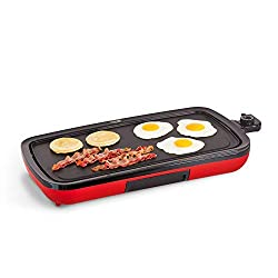 Nonstick Electric Griddle for Pancakes