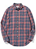 [ビーミング ライフストア by ビームス] ワイシャツ カジュアルシャツ B:MING by BEAMS リラックス レギュラー チェックシャツ メンズ レッド S