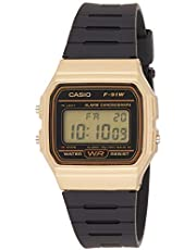 Casio Casual Watch Digital Display Automatic for Men F-91WM-9ADF