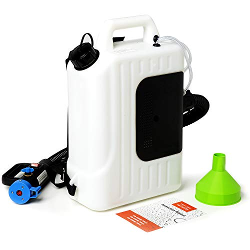 Newbyinn Disinfectant Fogger Machine, Electric Backpack Sanitizer Sprayer, ULV Fogger, Sanitizing Sprayer, 2.6 US GAL