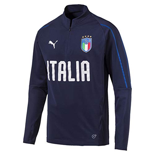 Puma Italia Trainingsoberteil Peacoat-Team Power Blue M