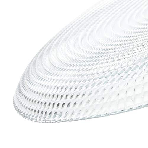 Servizio piatti Pasabahce in vetro, 18 pezzi Bianco
