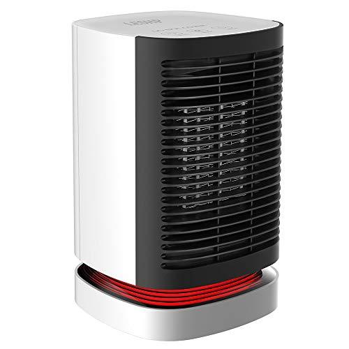 LYDUL Office Desktop mini-screen verwarming, Testa rotant A 90 Gradi A Basso Rumore, Controllo Intelligente Della Temperatuur, Shakeable Heads-verwarming