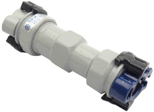 SKカワニシ ポリエチレン管×塩ビ管用異種管継手 SKXソケットP20×V20 SKXSP20XV20