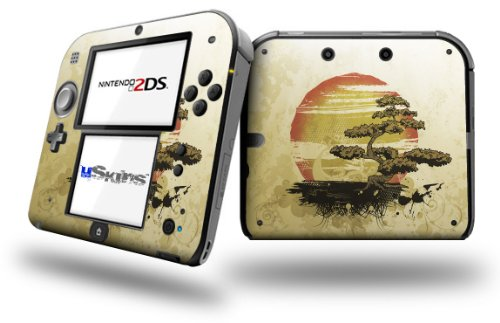 Bonsai Sunset - Decal Style Vinyl Skin fits Nintendo 2DS - 2DS NOT INCLUDED