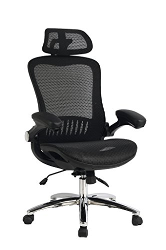 Viva Office Mesh Office Chair, High Back Executive Chair with...