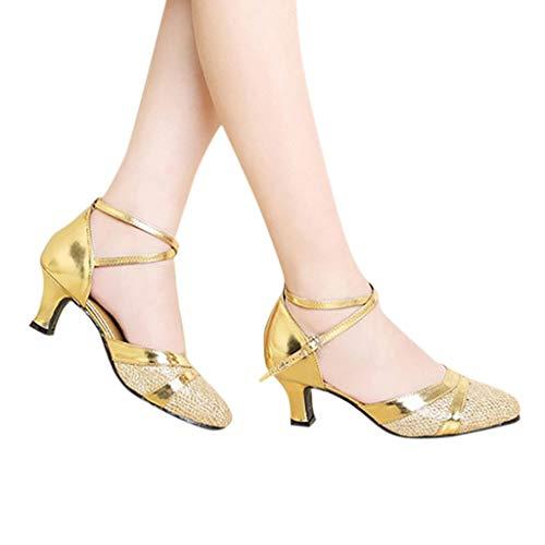 Zapatos de Tacones para Mujer Zapatos de Baile Latino Zapatos de tacón Fiesta...