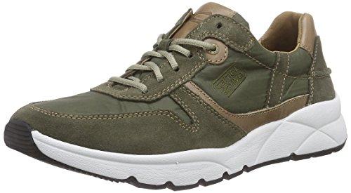 camel active Rush 12, Herren Sneakers, Grün (green/taupe), 45 EU (10.5 Herren UK)