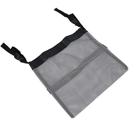 Tomanbery Mobility Scooter Bag Práctico Bolso para Silla de Ruedas Cómodo y Ligero para el Cuidado de la Salud de Mujeres y Hombres(Gray)