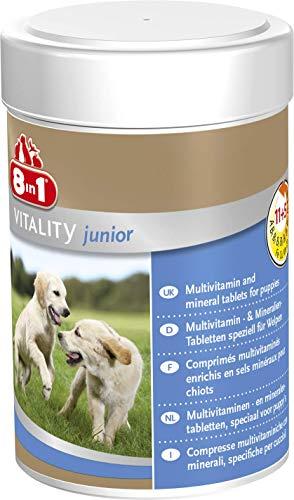8in1 Multi Vitamin Tabletten Puppy, zur Nahrungsergänzung bei Welpen, 1 Dose (1 x 100 Tabletten)