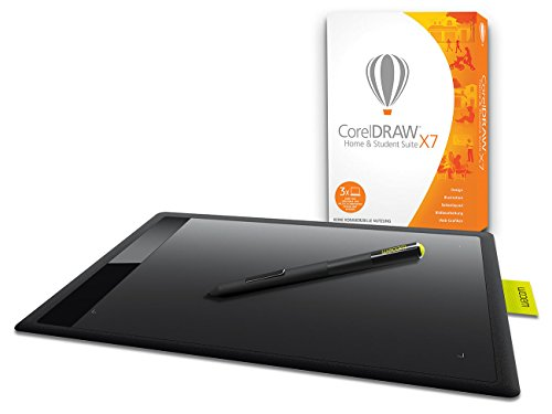 Corel CorelDraw Home & Student Suite X7 inkl. Wacom One M Grafiktablett