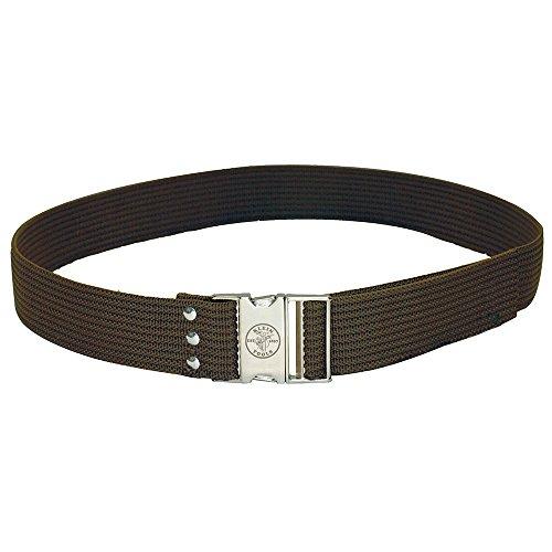 Klein Tools 5225 Tool Belt, Adjustable Electrician Belt is 2-Inch Wide, Adjusts for 48-Inch Waist