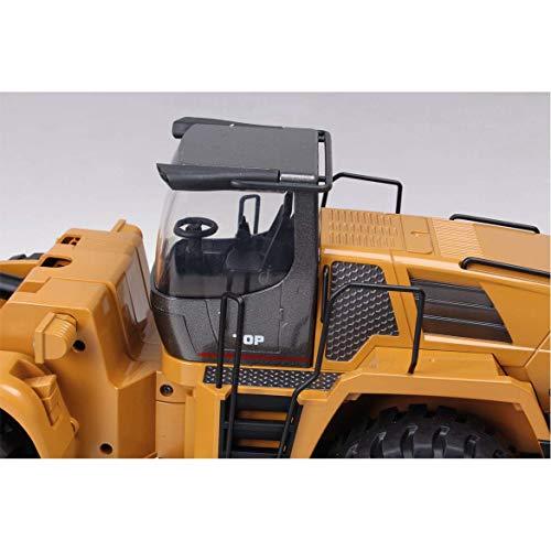 RC Auto kaufen Baufahrzeug Bild 2: FM- Electrics FM1583  Die Cast Metall-Radlader mit Sound 1:14 mit 10 Kanal Sender Huina 583*