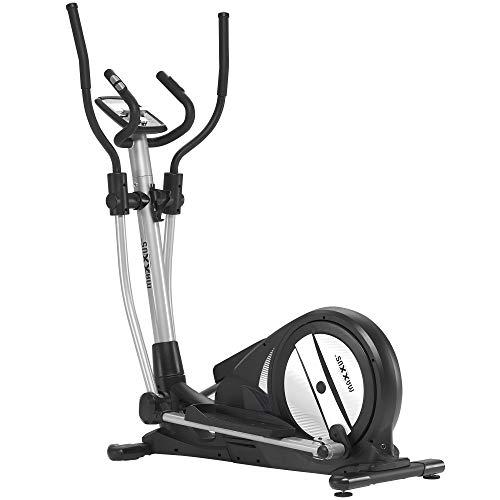 Maxxus Crosstrainer CX 3.0 – leiser Ellipsentrainer mit geringem Platzbedarf, Bluetooth Steuerung - 26 kg Schwungmasse, für das Training zuhause
